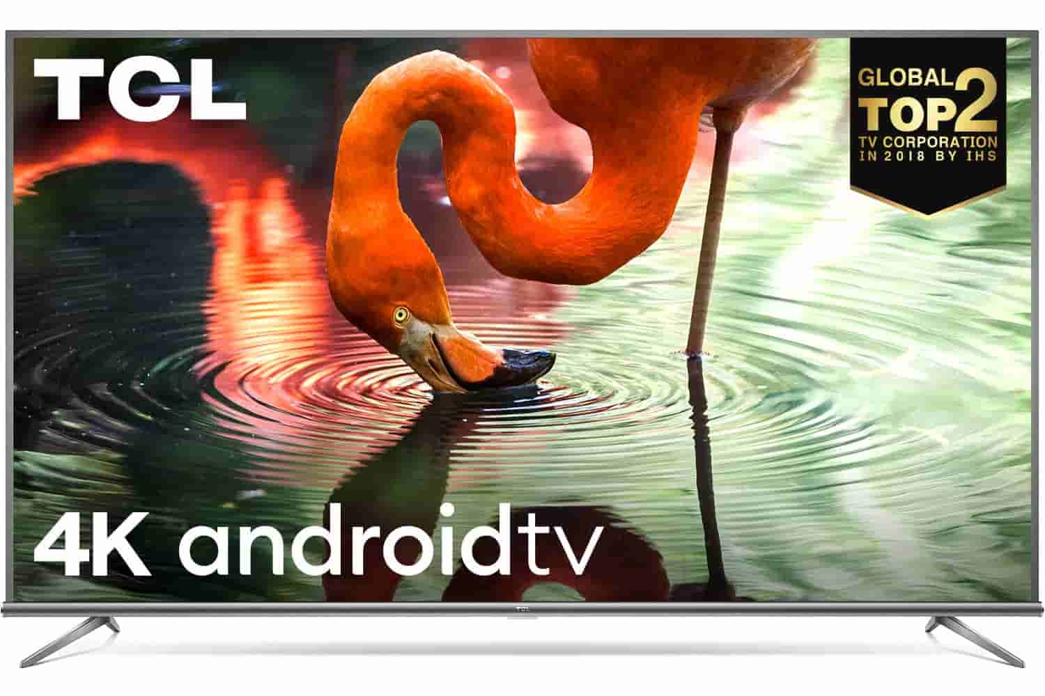 TCL 108 cm (43 inches) 4K Ultra HD Smart Certified   Android LED